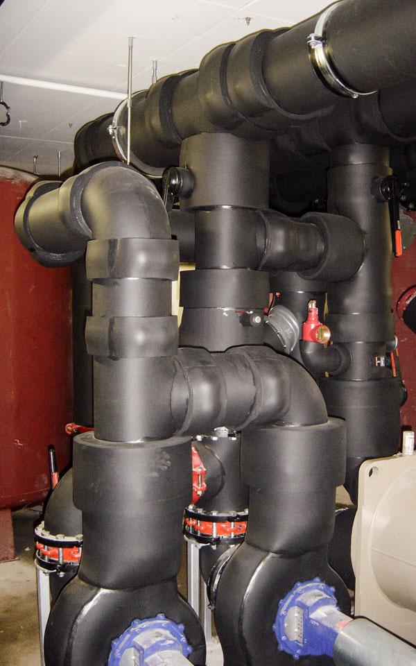 Kälteschutz hergestellt von Iso Lindinger GmbH, Anthering, Salzburg